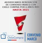 SALSA COLOR RENUEVA CONVENIO MARCO CON CHILE COMPRA POR 6 AÑOS